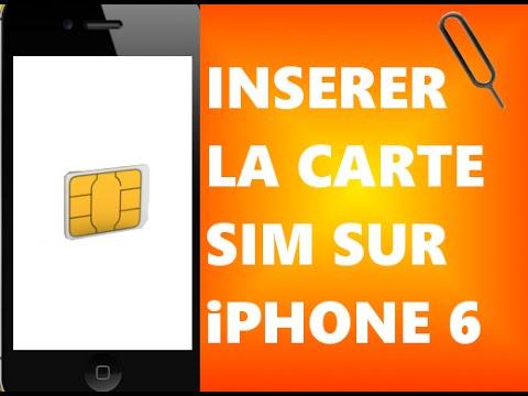 carte sim free iphone 6