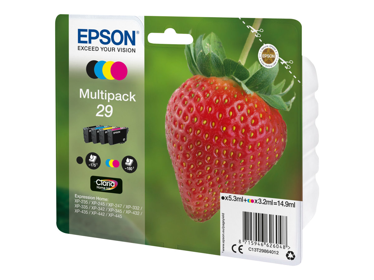 cartouches epson fraise