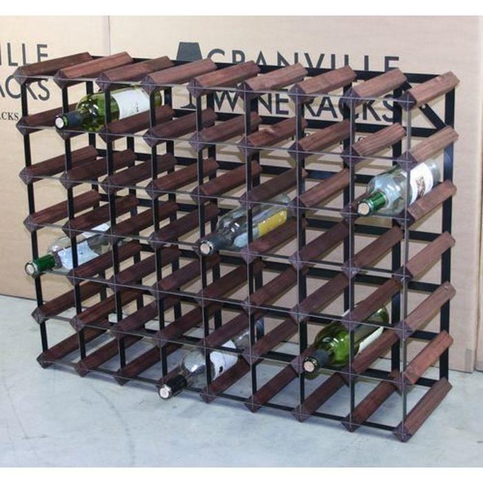 casier bouteille acier