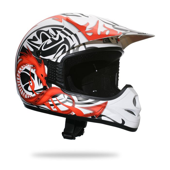 casque cross kid