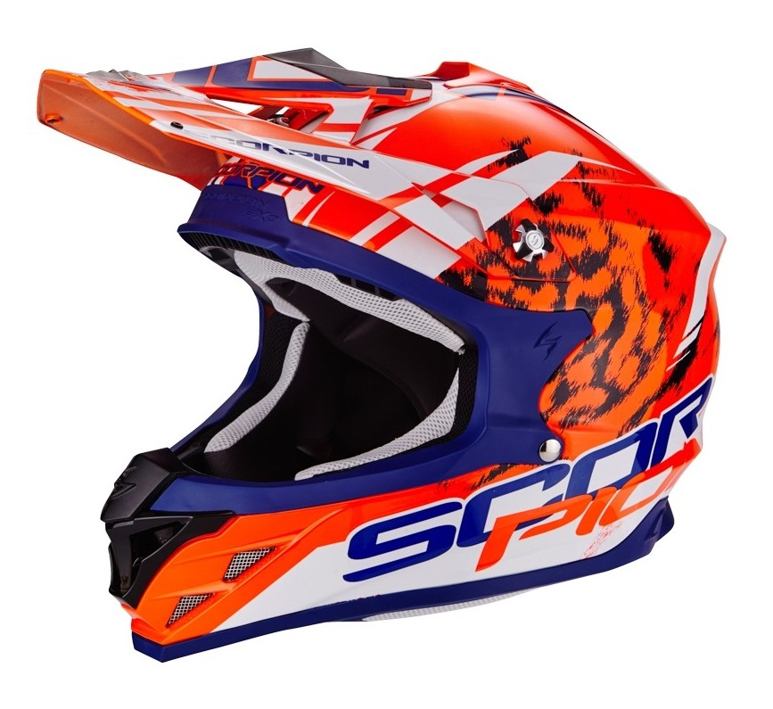 casque moto cross scorpion