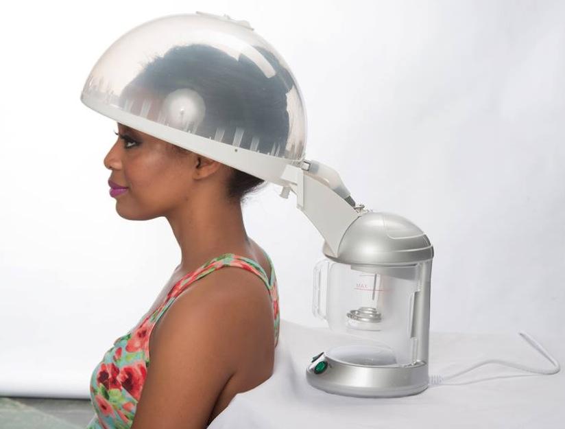 casque pour cheveux vapeur
