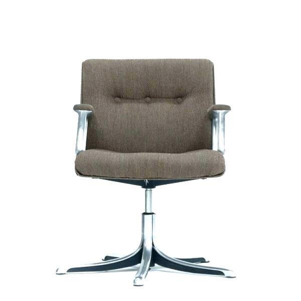 chaise de bureau pivotant sans roulettes