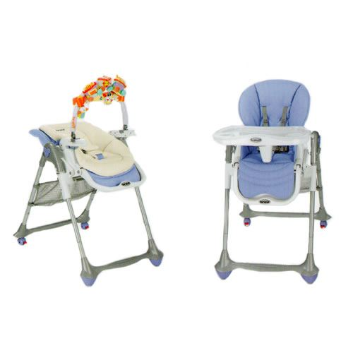 chaise haute dès la naissance
