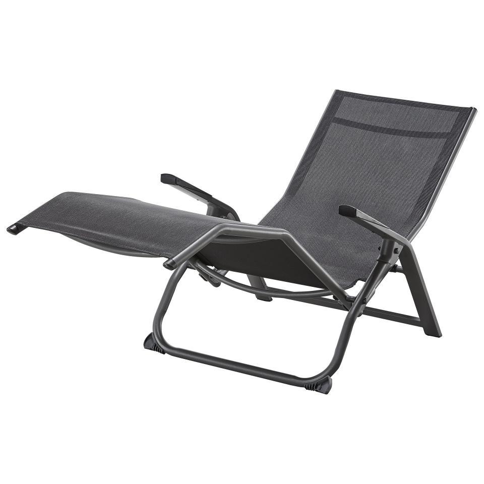 chaise longue a bascule