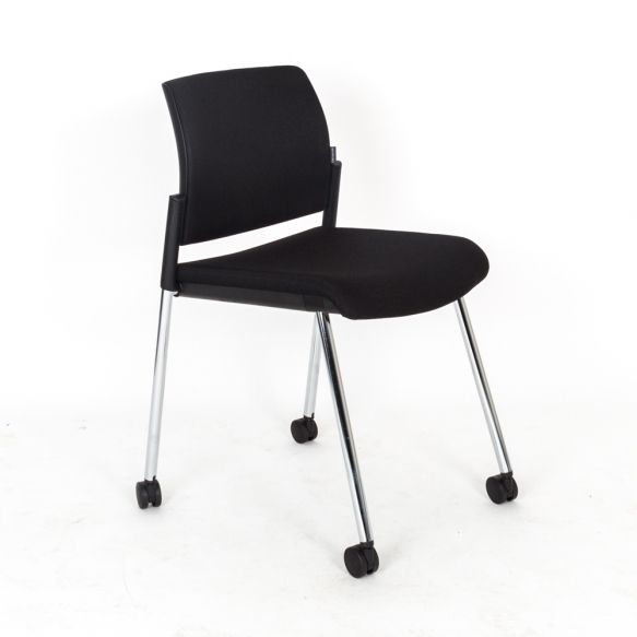 chaise sur roulette