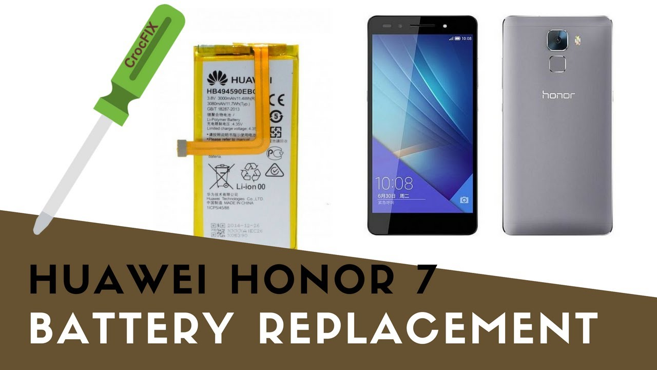 changer batterie honor 7
