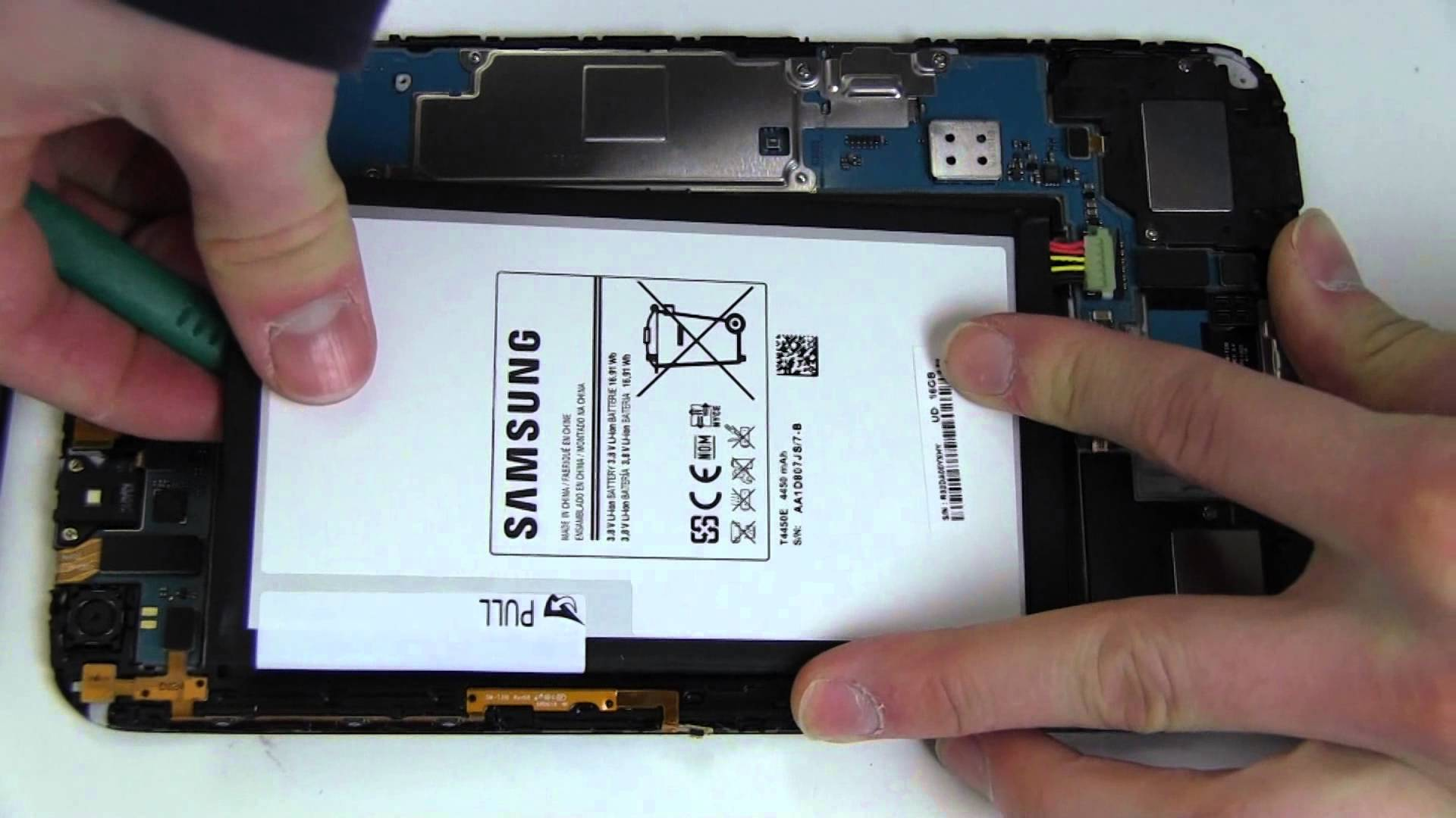 changer batterie tablette samsung galaxy tab 3