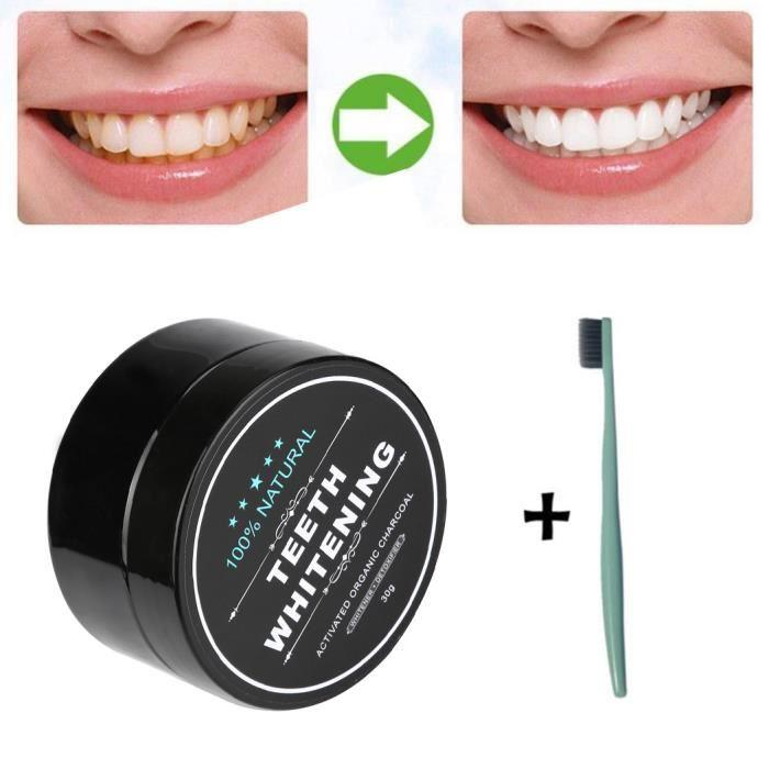 charbon dentifrice