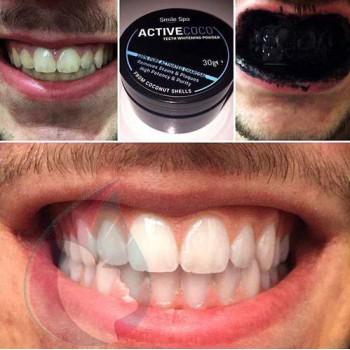 charbon végétal pour blanchir les dents
