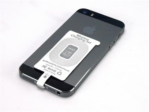 chargeur à induction iphone 5s
