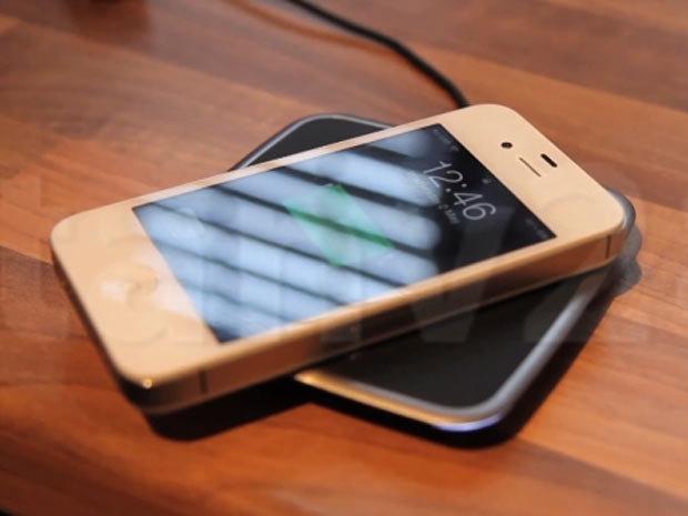 chargeur iphone 4s sans fil