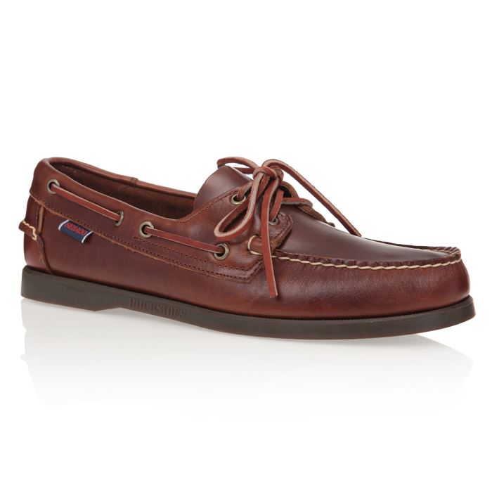 chaussure bateau cuir homme