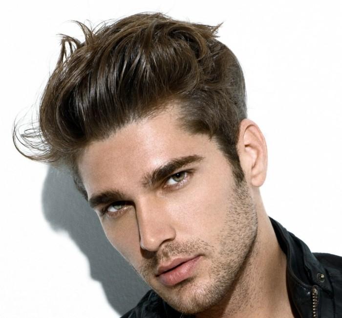 cheveux épais homme