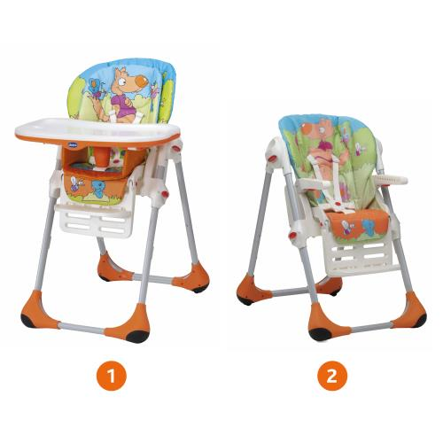 chicco chaise haute polly 2 en 1