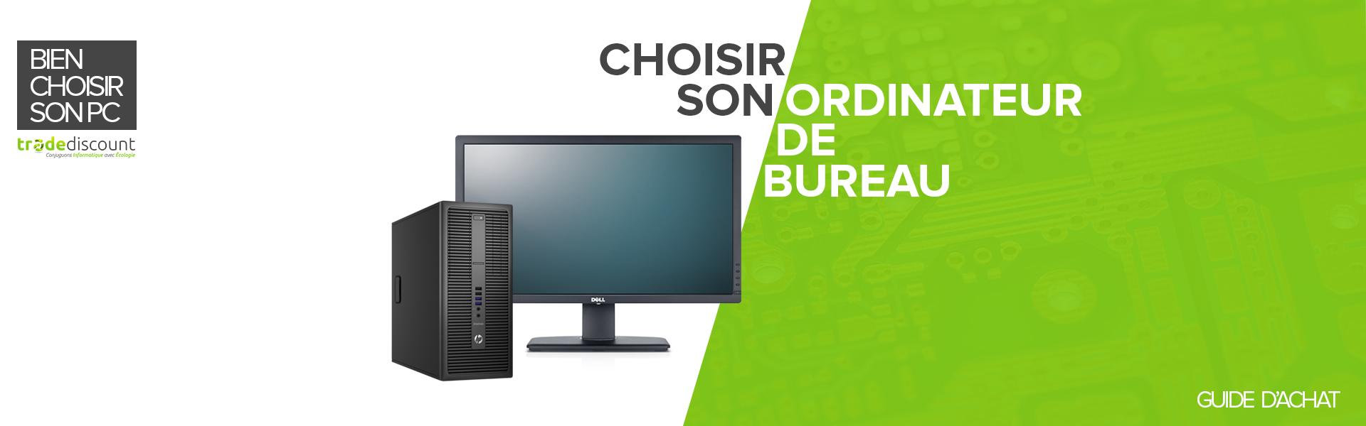 choisir un ordinateur de bureau