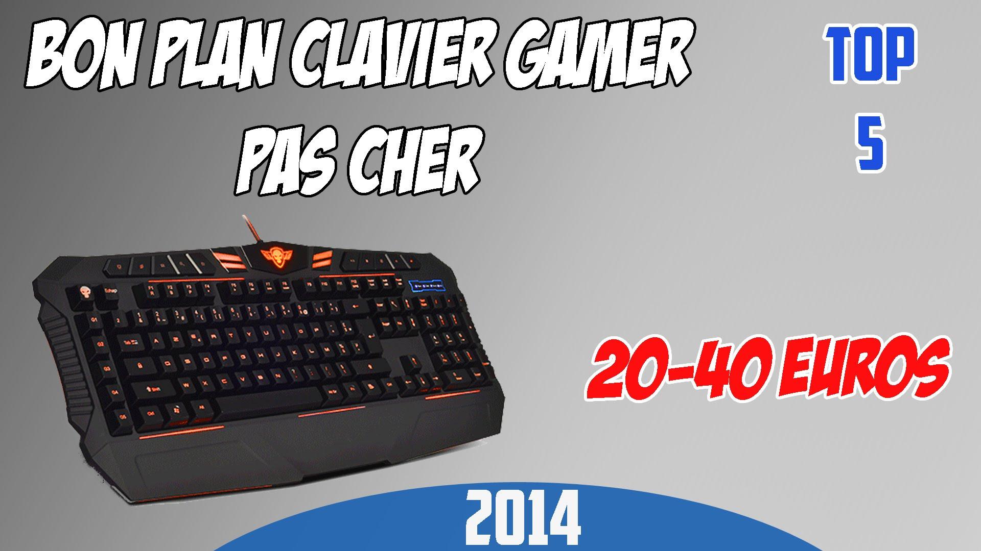 clavier gamer 30 euros
