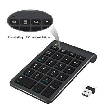 clavier numérique sans fil