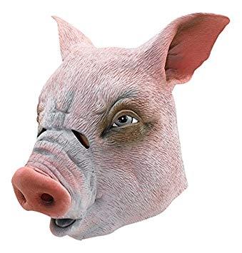 cochon masque