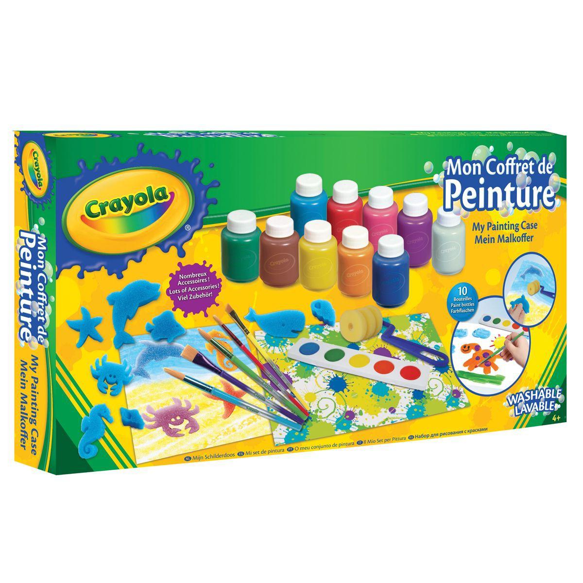 coffret peinture enfant