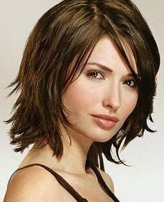 coiffure femme mi longue