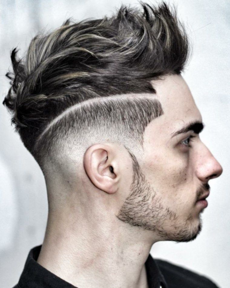 coiffure homme stylé