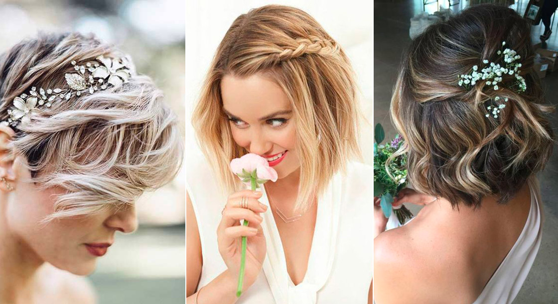 coiffure mariage cheveux courts femme