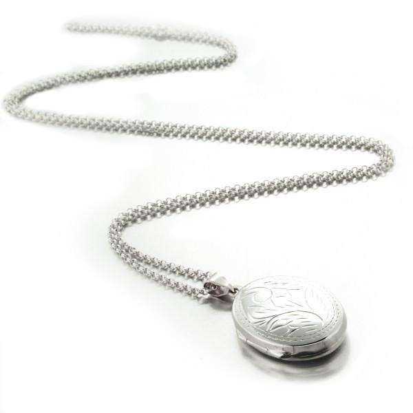 collier avec pendentif porte photo
