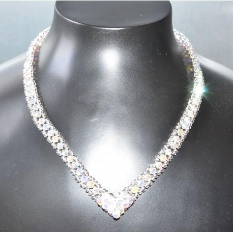 collier cristaux swarovski