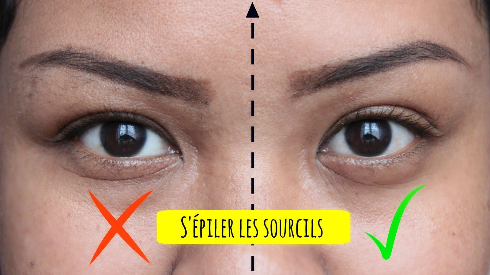 comment bien épiler les sourcils