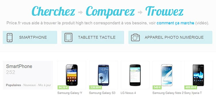 comparateur high tech