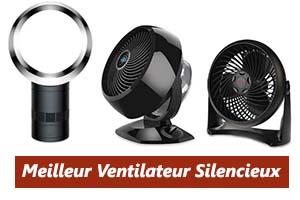comparatif ventilateur silencieux