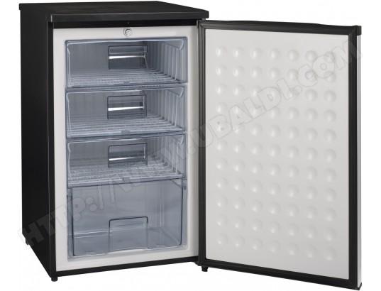 congelateur top noir