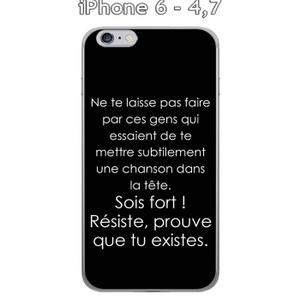 coque iphone 6 citation