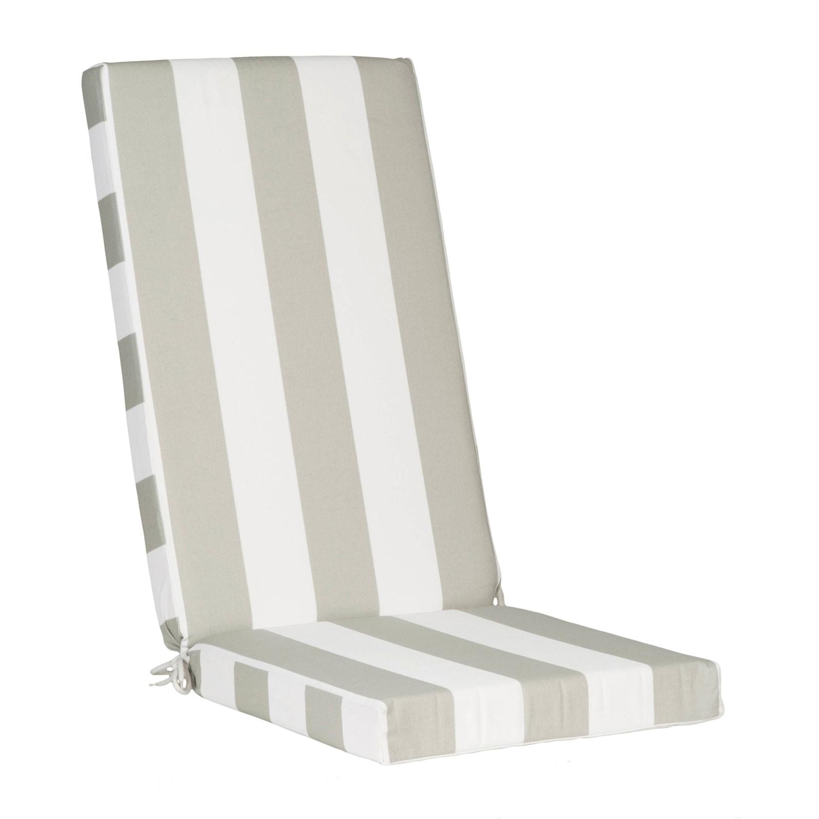 coussin fauteuil jardin haut dossier