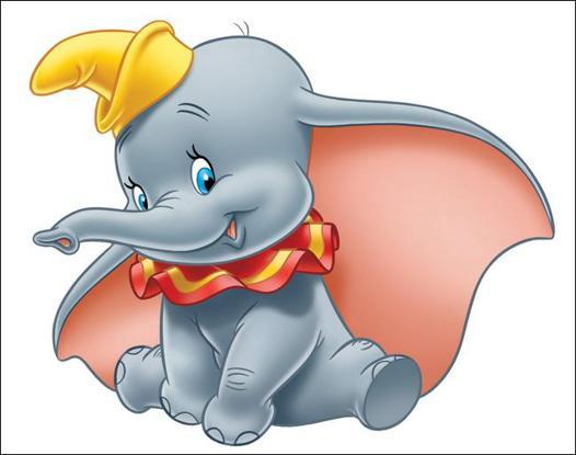 dessin animé avec un elephant