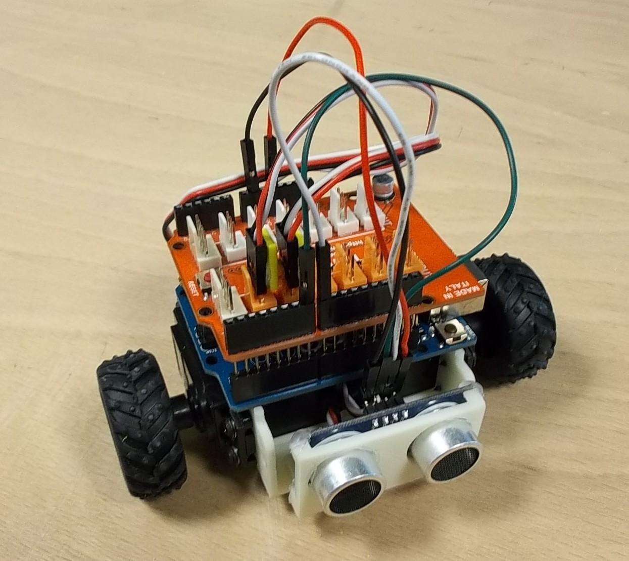 detecteur d obstacle pour robot