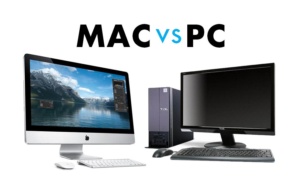 différence pc mac