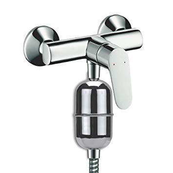 dispositif anti calcaire pour la douche