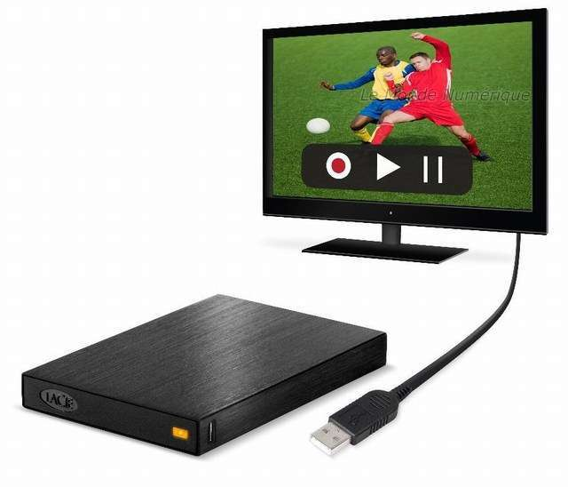 disque dur externe sur tv samsung
