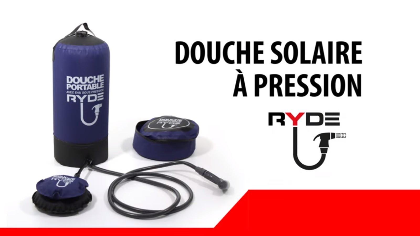 douche portable à pression