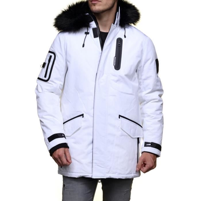 doudoune redskins homme blanche