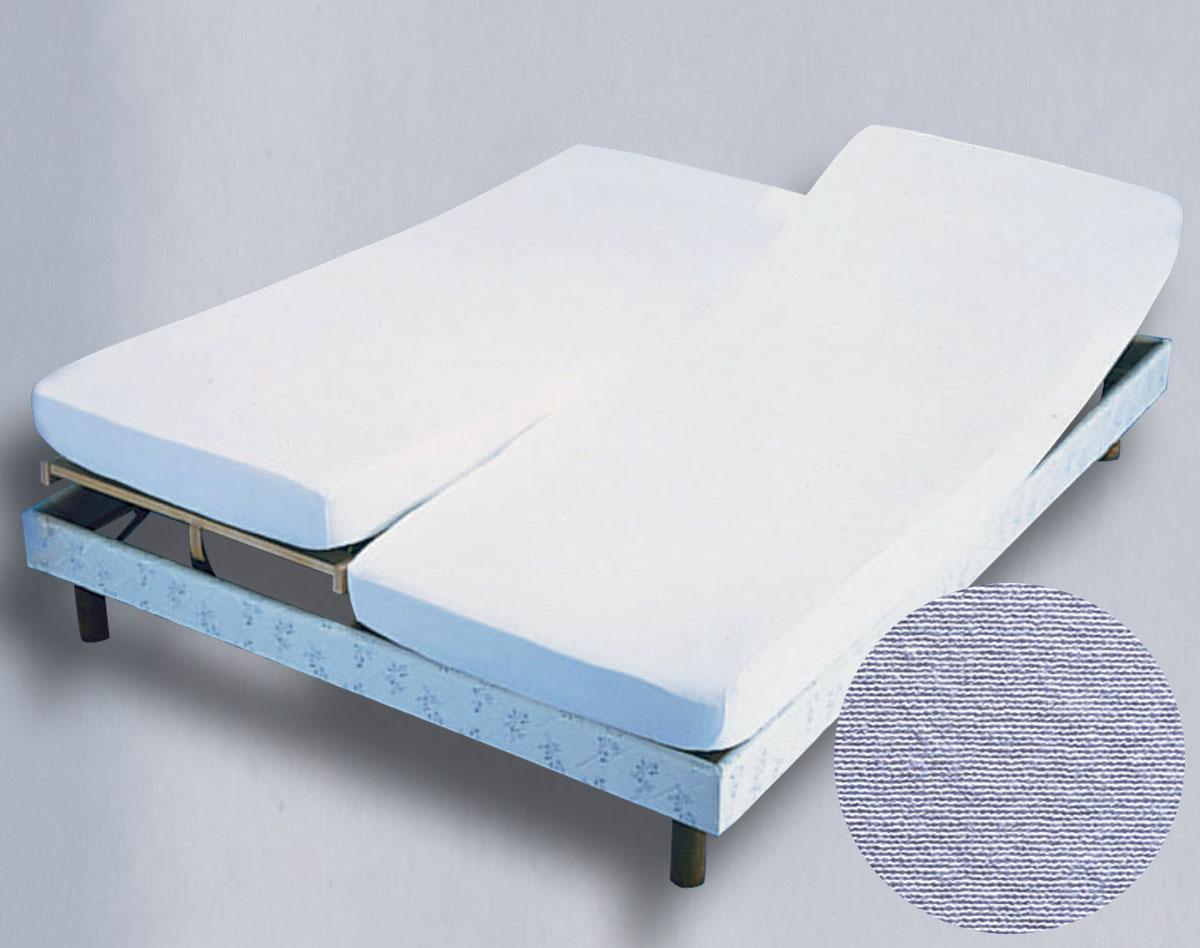 drap housse 2x80x200 pour lit electrique