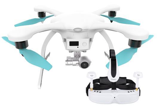 drone casque vr