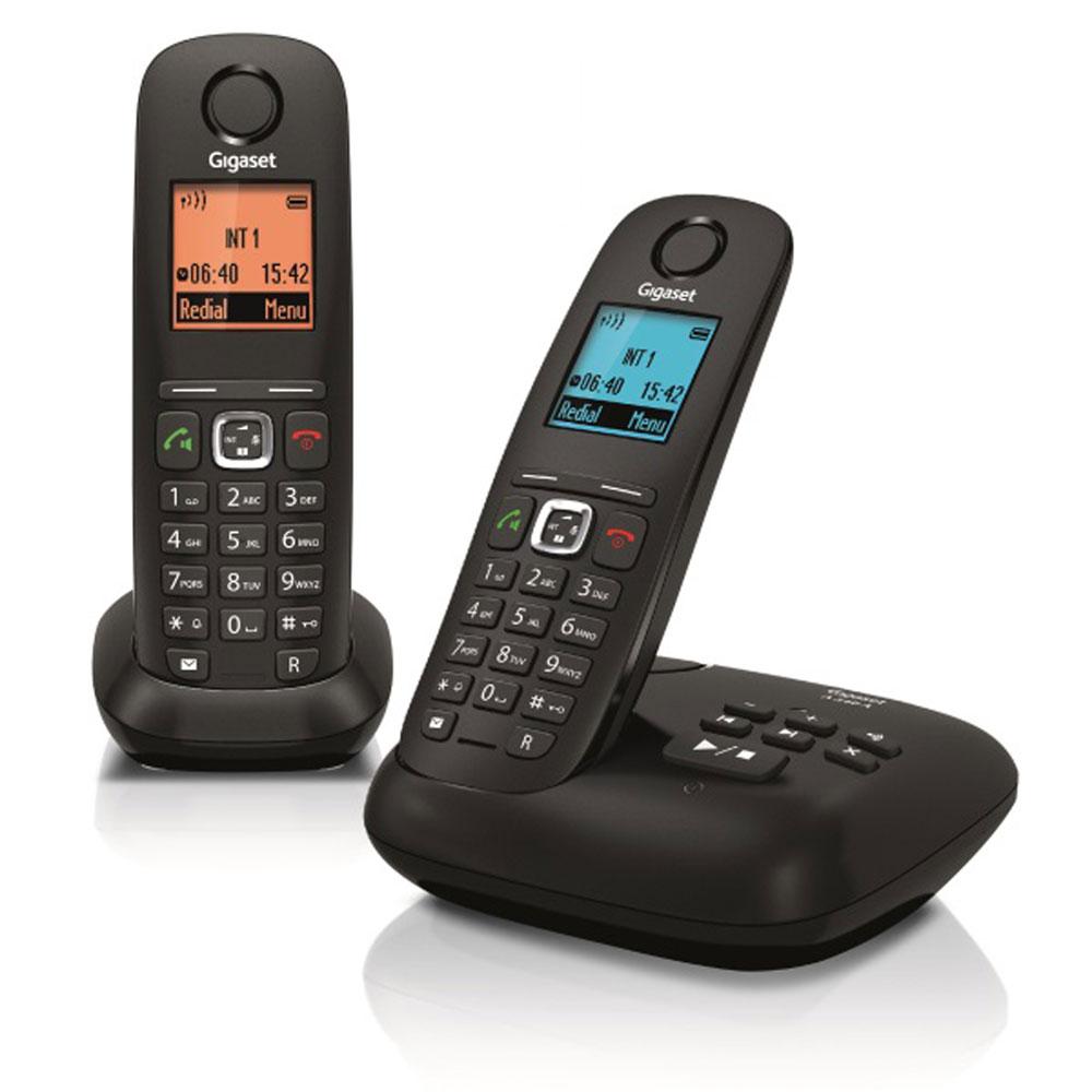duo téléphone sans fil avec répondeur