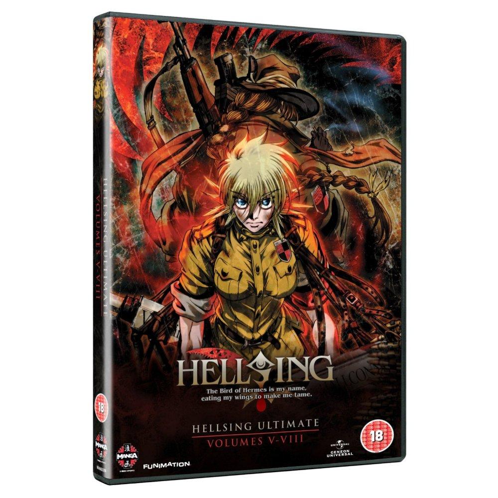dvd manga