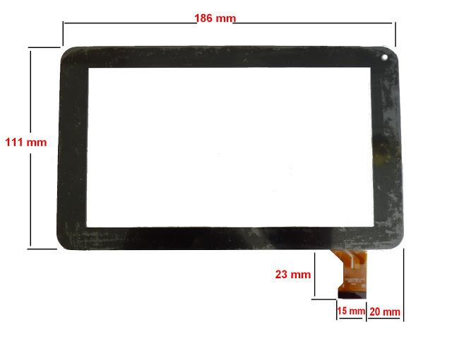 ecran tactile tablette polaroid 7 pouces