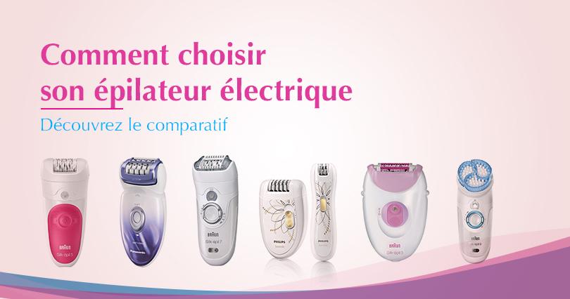 epilateur electrique meilleur