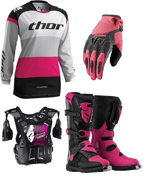 equipement moto cross femme