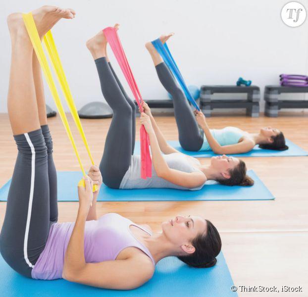 exercice avec elastique decathlon